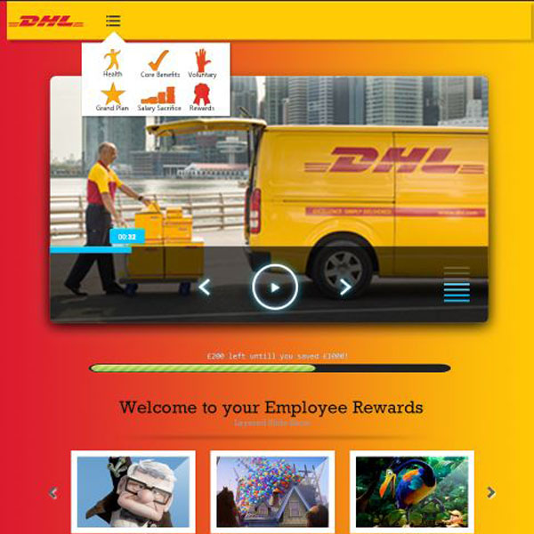 Personal Groups DHL gamified discount platform