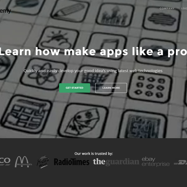 Mobi Academy - App that teaches you how to make Mobile Apps on a Mobile Device Side Project